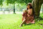 : the reader : by happyfruitcake