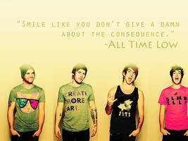 All Time Low wallpaper-1 by 98forever