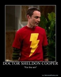 DR. Sheldon cooper for the win by thegreatestmario
