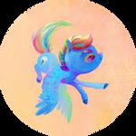 Chibi Rainbow Badge Collection - RD