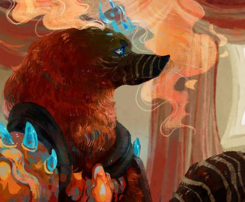 attack on HourglassDemon - Sorceror