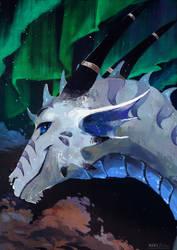 commission for DragonologyDragon - Aurora