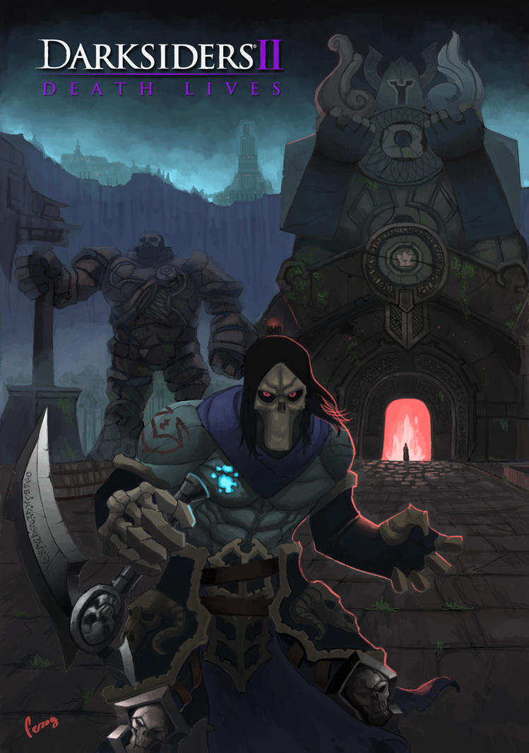 Darksiders death by Ferzog