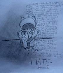 -Hate- by MasterPowerXOXO
