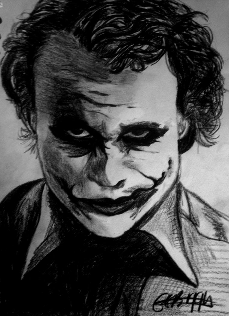 The Joker Pencil Drawing By EleanorBiggin On DeviantArt
