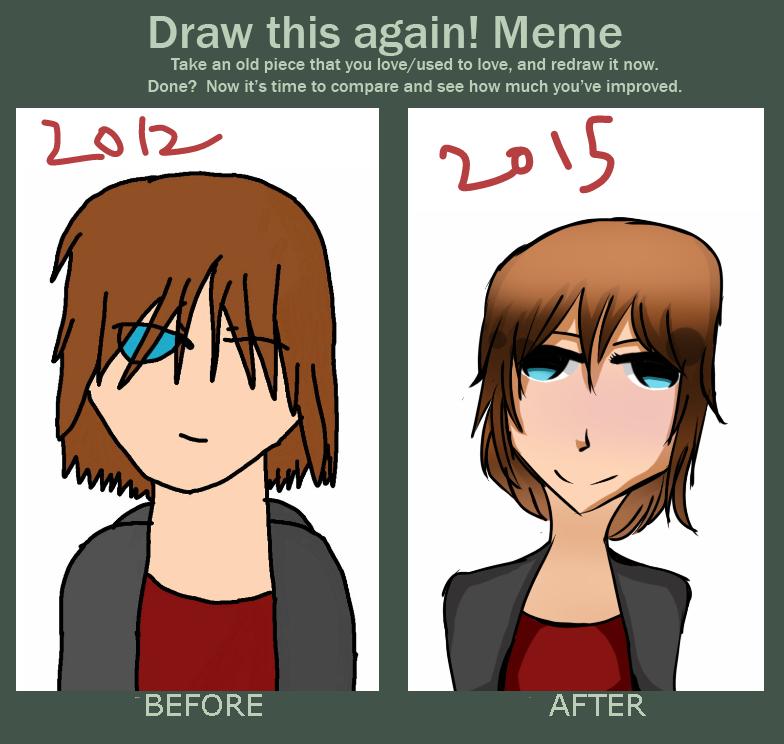Draw this again meme by Zo-Yo