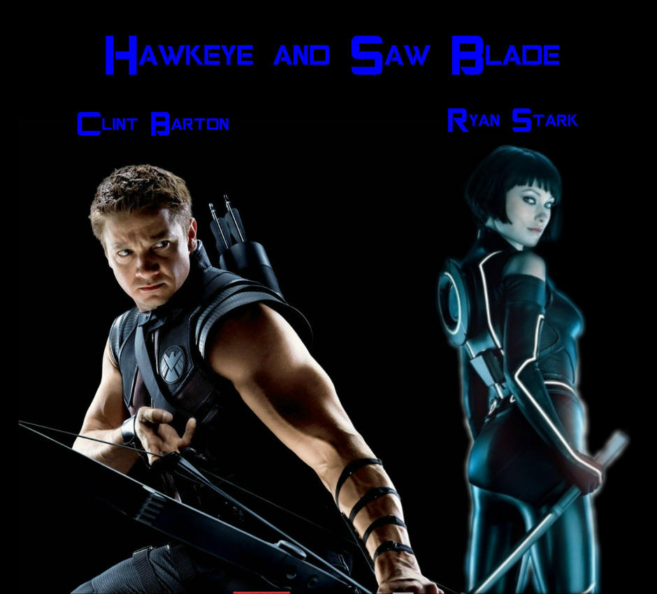 Clint Barton and Ryan Stark by bf5kid