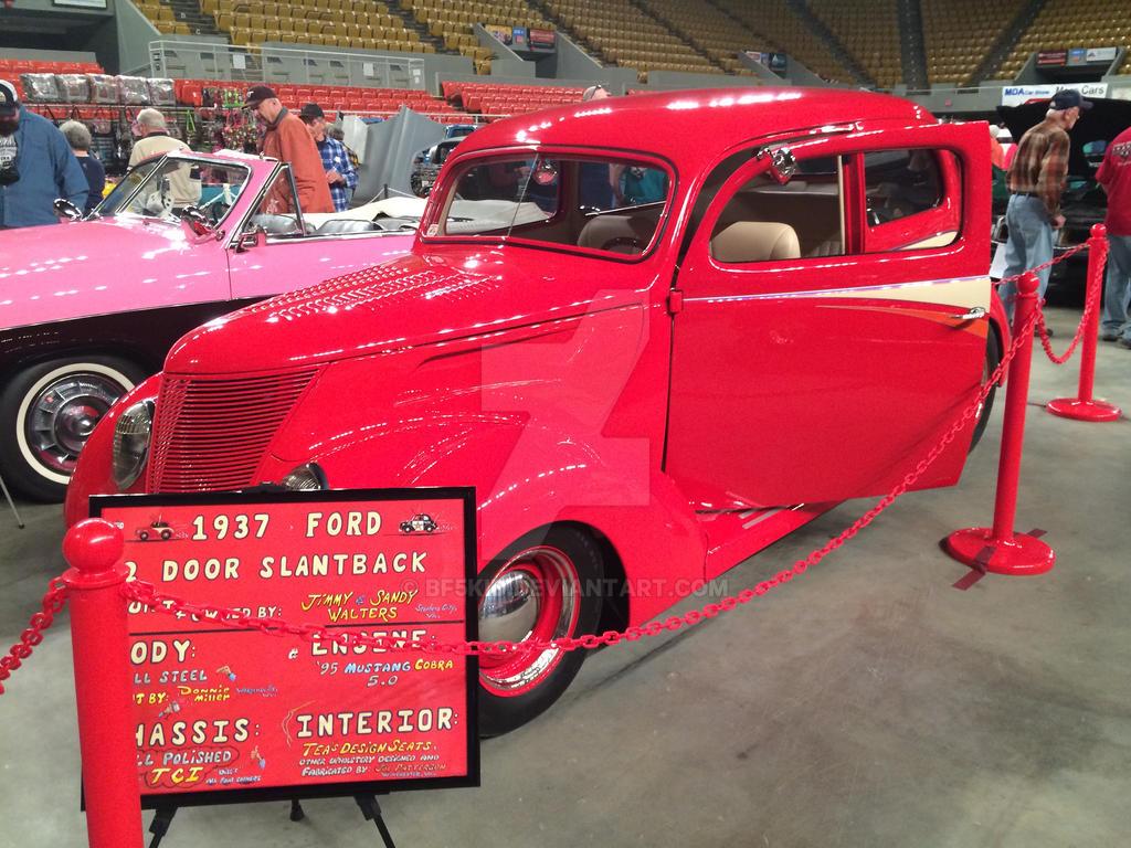1937 ford 2 door slantback by bf5kid on deviantart for 1937 ford 2 door slant back