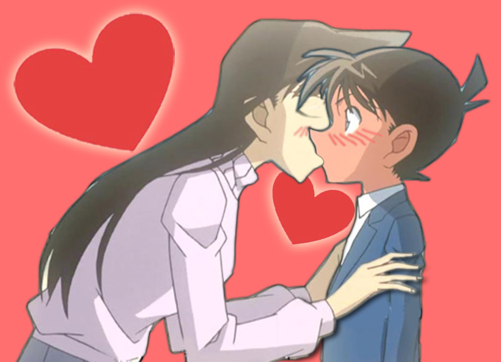 Detective Conan kiss Ran love by black4869