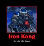 Zoids Motivational: Iron Kong