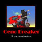 Zoids Motivational: Geno Break