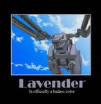 Zoids Motivational: Lavender