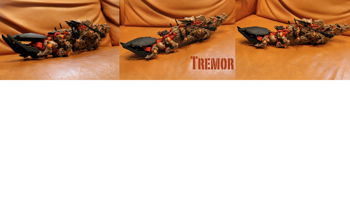 Zoids Tremor Custom by DGDSND01