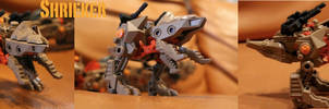 Zoids Shrieker: Tremor BCAS support unit