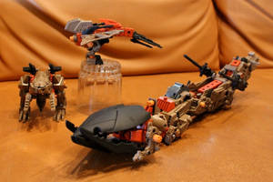 Tremor Zoid: The Complete Team
