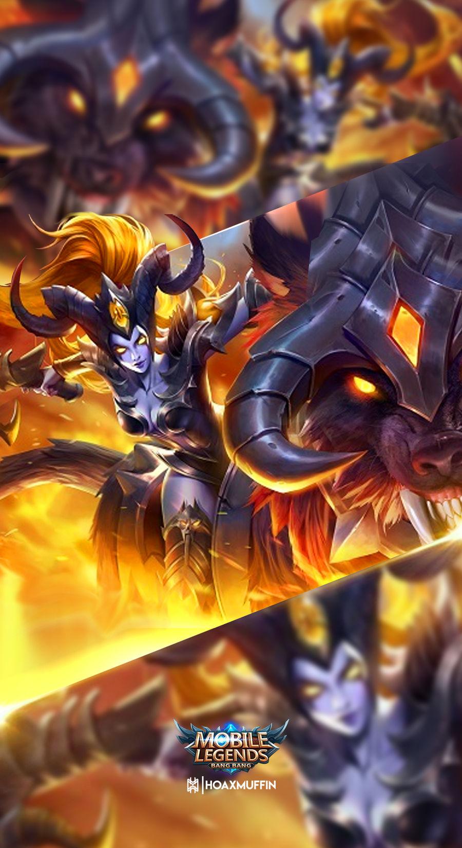 Irithel Hellfire Wallpaper By Archfiendniffum On Deviantart