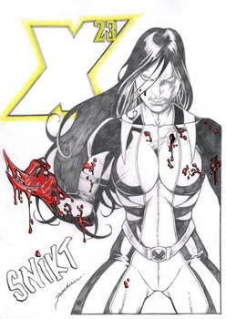X-23 ART BY ALDIR ROCHA