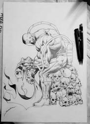 Bane art by Aldir Rocha