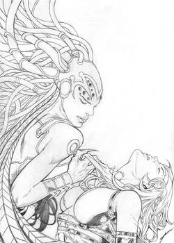 Ariel art by Aldir Rocha ...