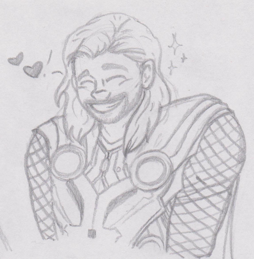 Thor Loves You by FindYourInnerLennon