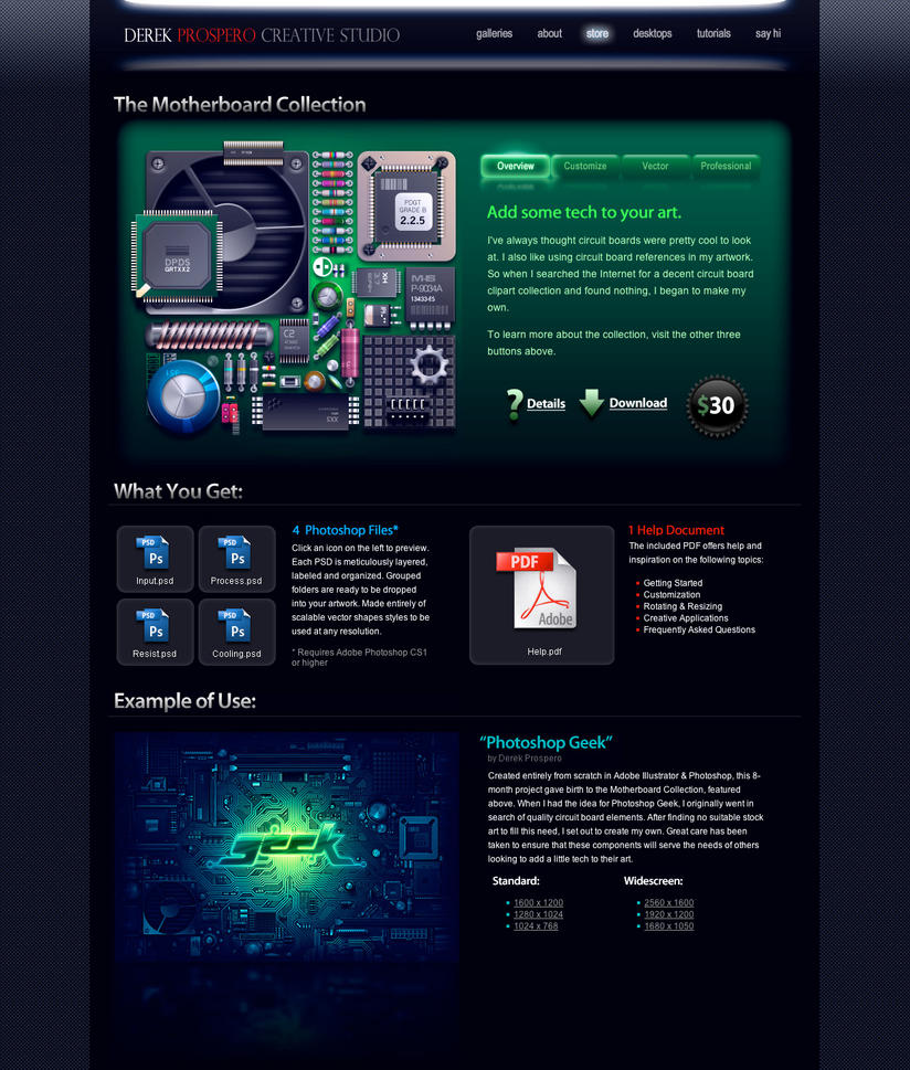 The Motherboard Collection by DerekProspero