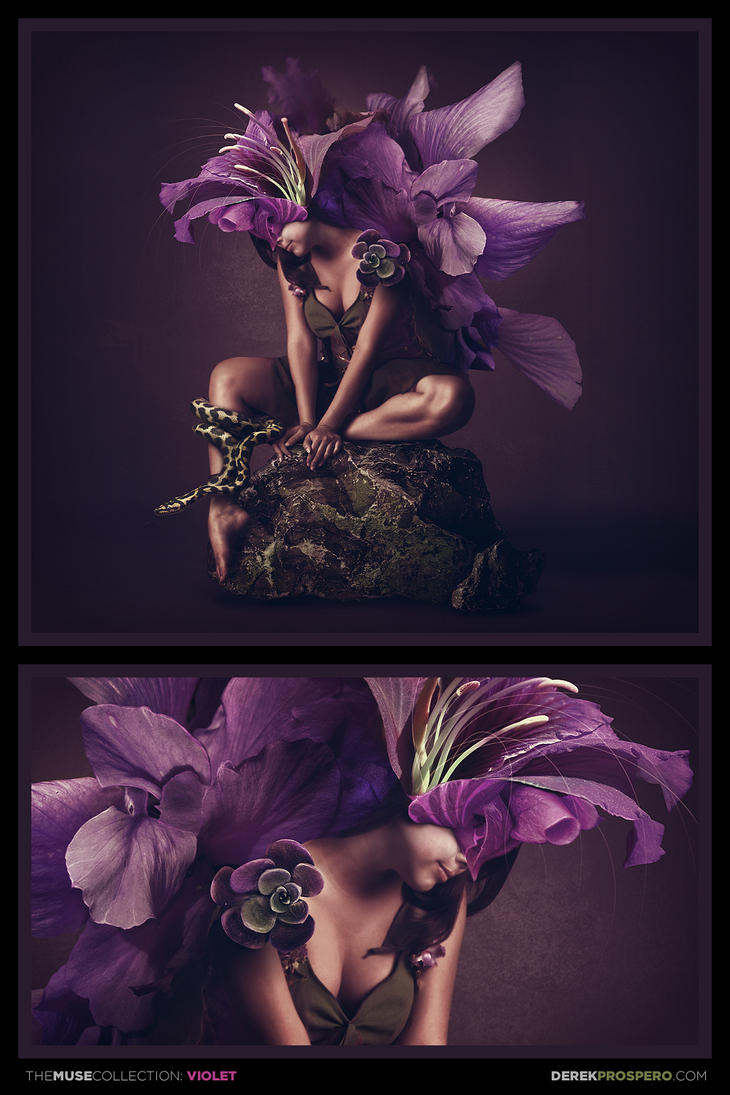 The Muse Collection: Violet by DerekProspero