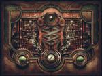Steampunk Motherboard
