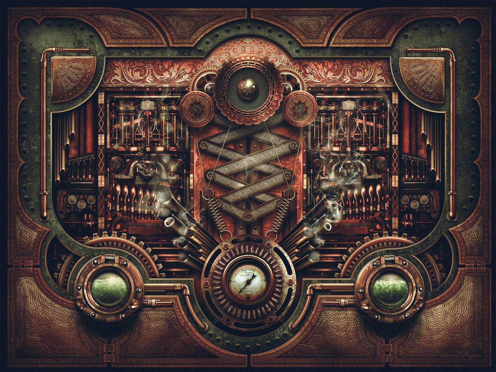 Steampunk Motherboard By DerekProspero On DeviantArt