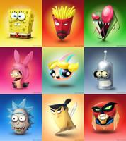 Cartoon Heads