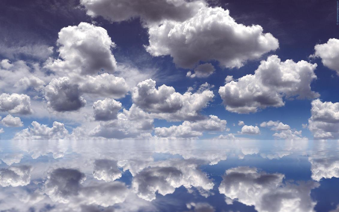 Clouds Over Water by DerekProspero