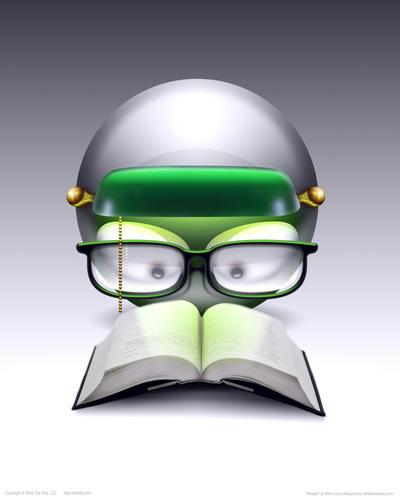 POSTER - Bookworm by DerekProspero