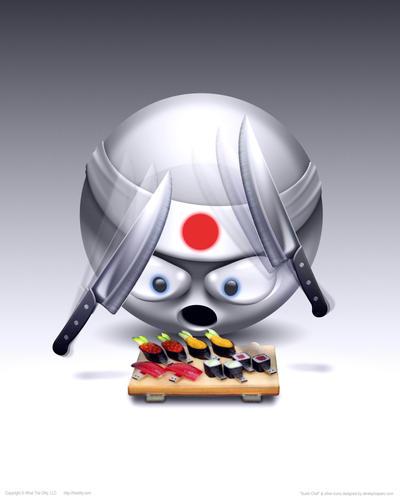 POSTER - Sushi Chef by DerekProspero