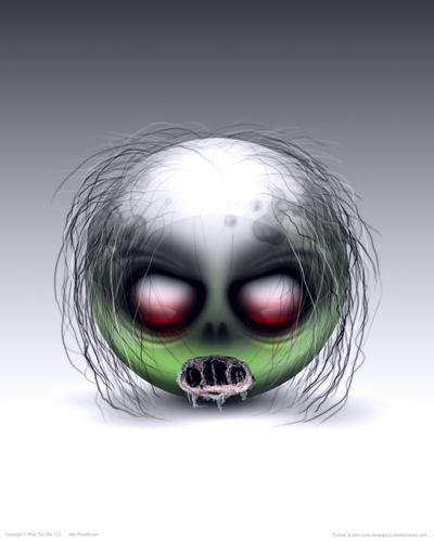 POSTER - Zombie by DerekProspero
