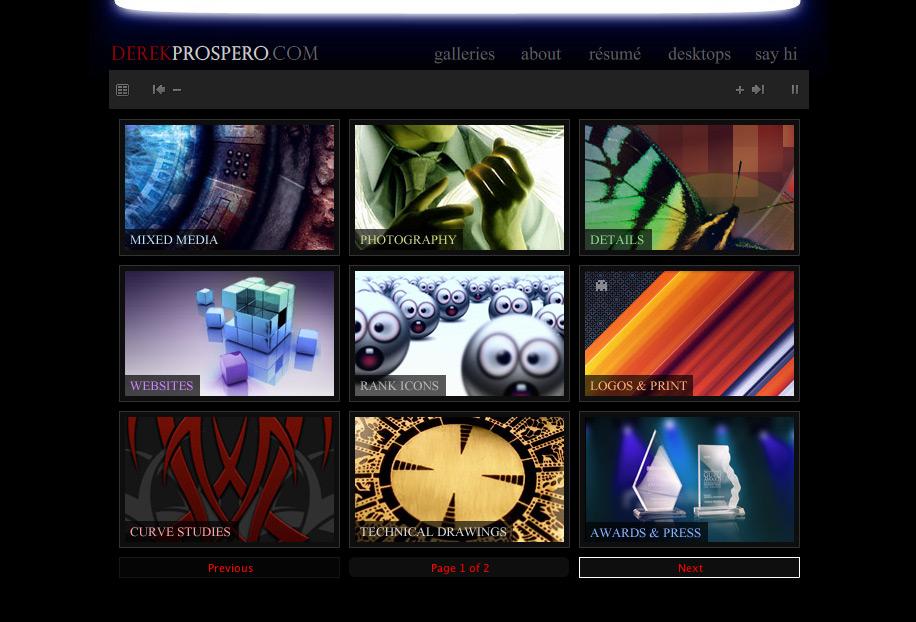 derekprospero.com v7 by DerekProspero