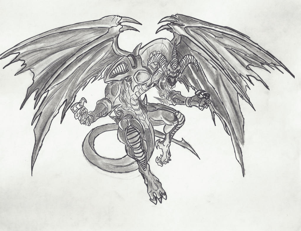 red dragon archfiend by ligerprime on deviantart