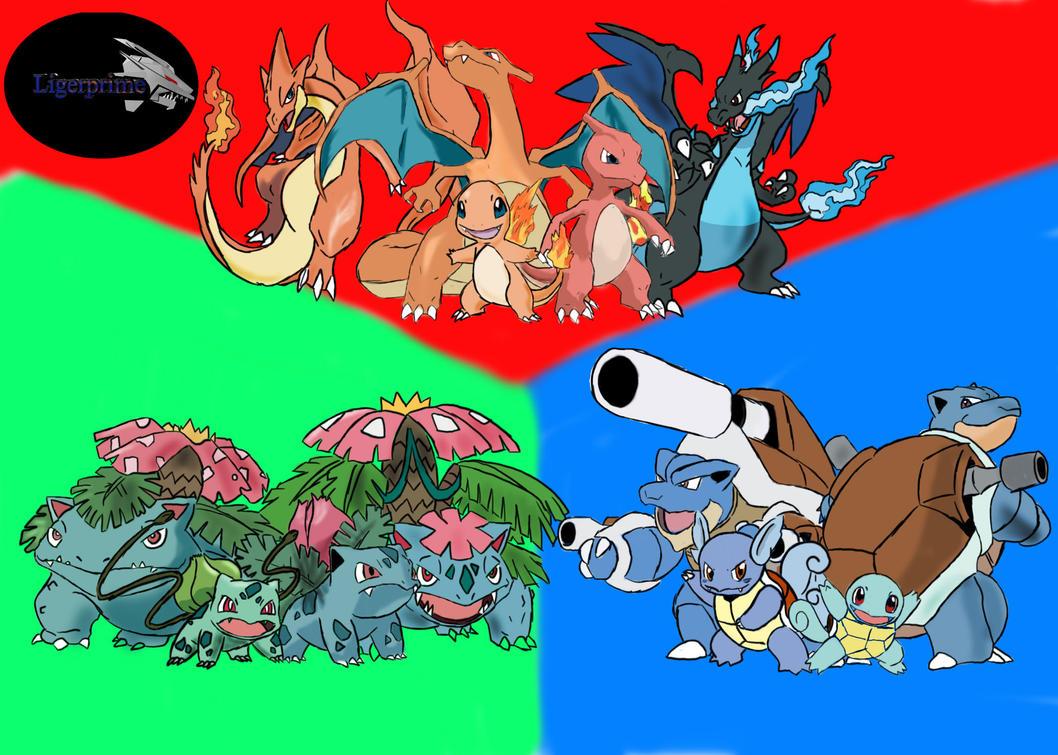 pokemon kanto starters mega - photo #20