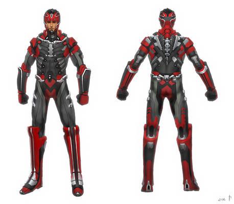 Cyborg Kickboxer - concept