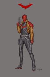 Red Hood by n-pigeon