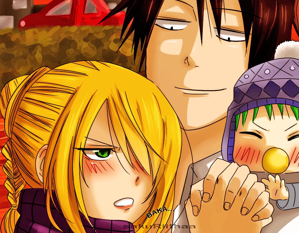 Beelzebub Romance Thread - Page 2 Baka___by_sakuriithaa-d4og61v