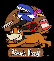 010815_0002: Duck Hunt by BuizelKnight