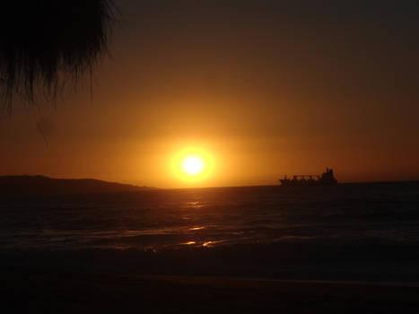Sunset on the Pacific Coast (2017)