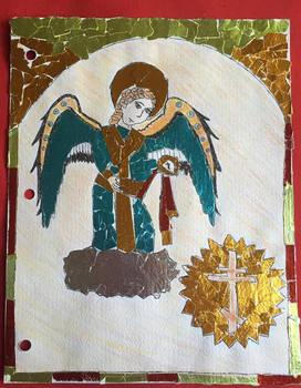 Angel (byzantine/orthodox iconography style)
