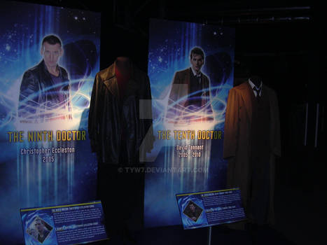 The outfits worn by the 9th and 10th Doctor