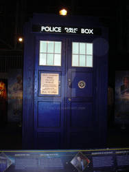 Exterior of 11th Doctor TARDIS