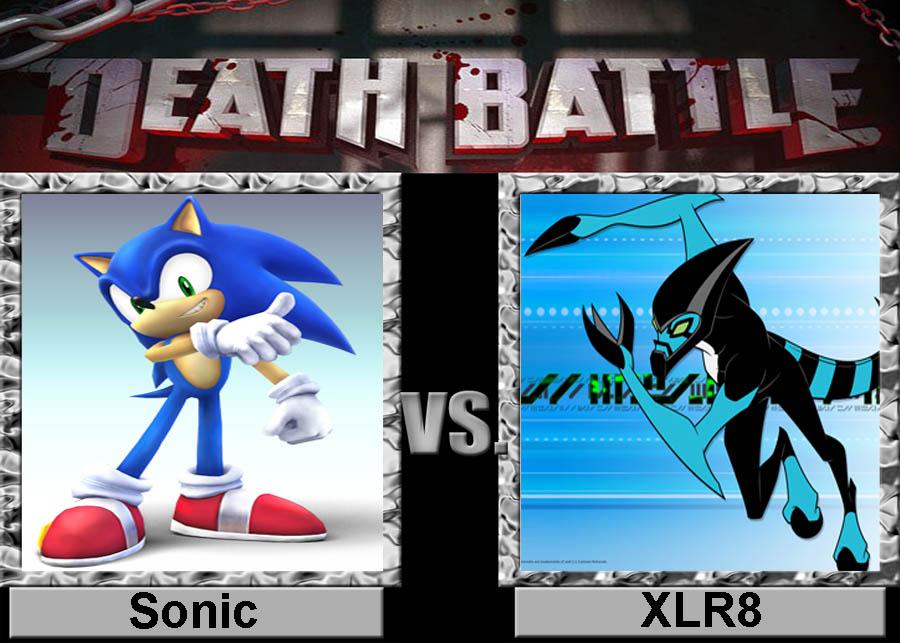Death Battle Sonic Vs Xlr8 By Porygon2z On Deviantart