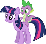 Just Twilight and Spike