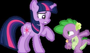 You need a bath, Spike
