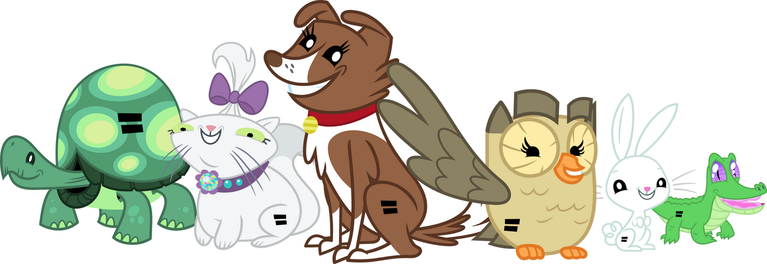 Equal Pets by Porygon2z on DeviantArt