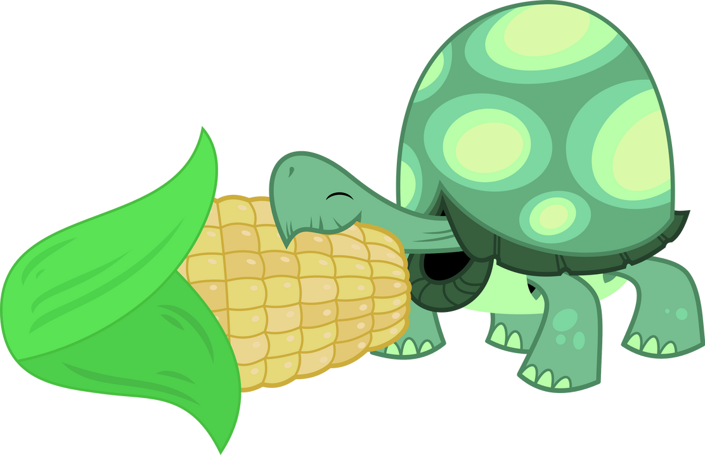 Tank loves corn by porygon2z
