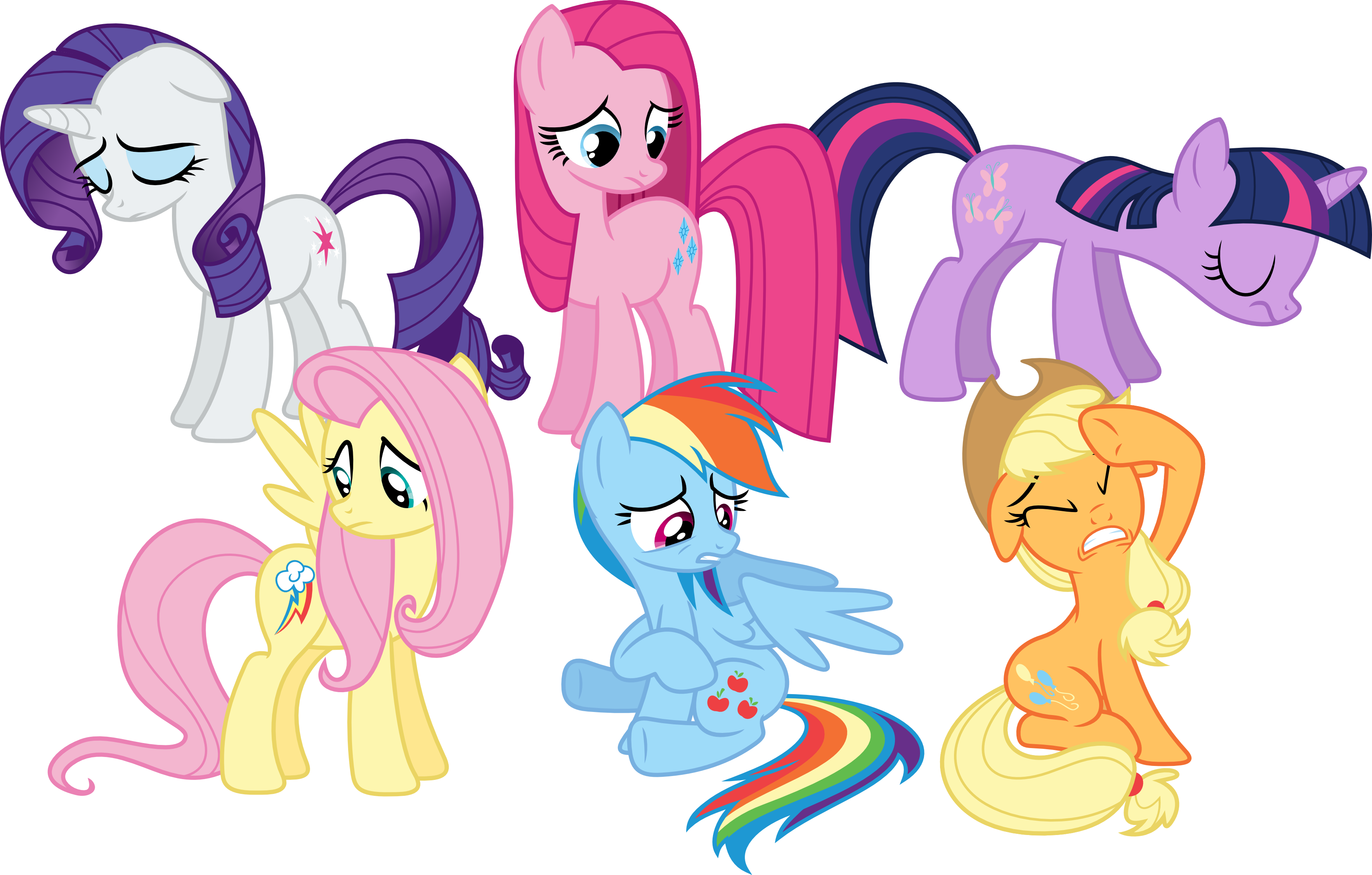 Thats what our cutie marks are telling us...again by Porygon2z on ...